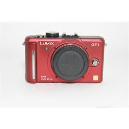 Used Panasonic GF1 Body Red thumbnail