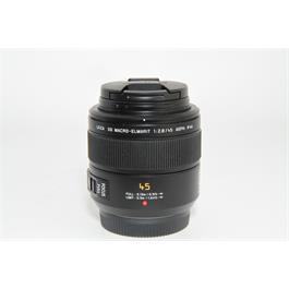 Used Panasonic 45mm f/2.8 Macro Lens thumbnail