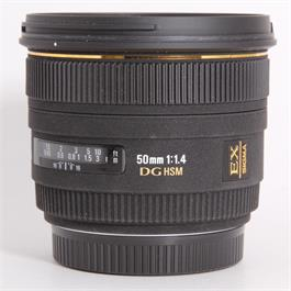 Used Sigma 50mm f/1.4 DG HSM - Canon thumbnail