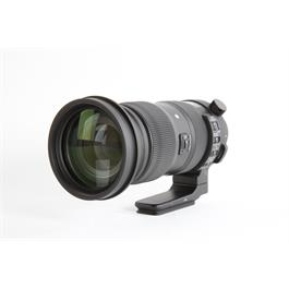 Used Sigma 60-600mm F4.5-6.3 OS S Canon thumbnail