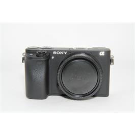 Used Sony A6300 Body Black thumbnail
