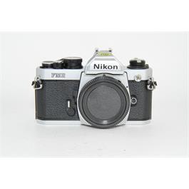 Used Nikon FM2 35mm Film Camera Silver thumbnail