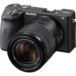 Sony Alpha a6600 Mirrorless Digital Camera Body With 18-135mm Lens Kit Thumbnail Image 3