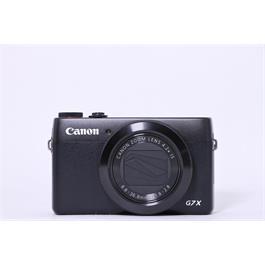 Used Canon G7X Mk 1 Compact Camera Black thumbnail
