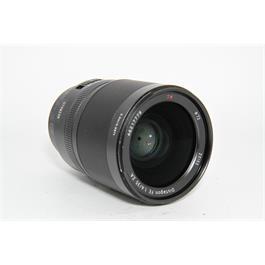Used Sony FE 35mm F1.4 Distagon T* ZA Thumbnail Image 1