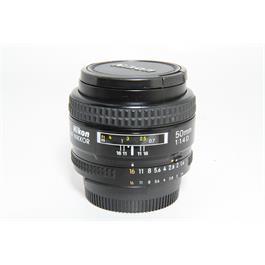 Used Nikon AF 50mm f/1.4D Lens thumbnail