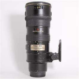 Used Nikon 70-200mm f/2.8G VR thumbnail