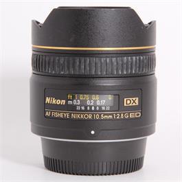 Used Nikon 10.5mm f/2.8G Fisheye thumbnail