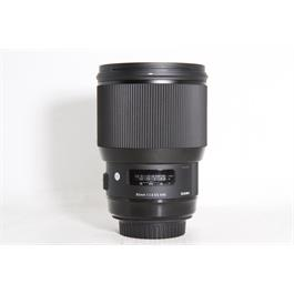 Used Sigma 85mm F/1.4 DG HSM Art Canon thumbnail