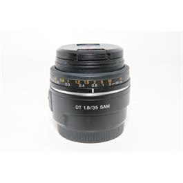 Used Sony DT 35mm f/1.8 A Mount Lens thumbnail