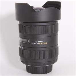 Used Sigma 12-24mm f/4.5-5.6 DG HSM II - Nikon thumbnail