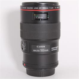 Used Canon 100mm f/2.8L IS USM Macro thumbnail