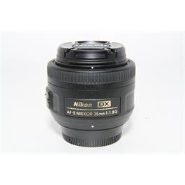 Used Nikon 35mm f/1.8G DX Lens thumbnail
