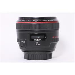 Used Canon 50mm f/1.2L USM thumbnail