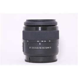 Used Sony DT 18-55mm F3.5-5.6 SAM II Thumbnail Image 0