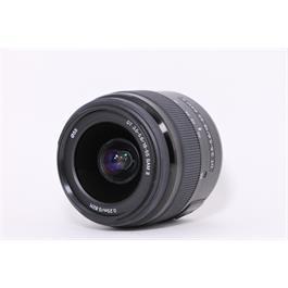 Used Sony DT 18-55mm F3.5-5.6 SAM II Thumbnail Image 1