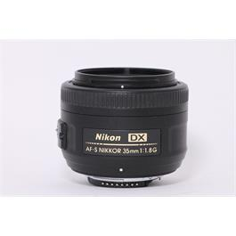 Used Nikon AF-S 35mm F/1.8G thumbnail