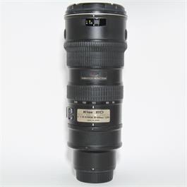Used Nikon 70-200mm f/2.8G VR Lens thumbnail