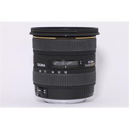 Used Sigma 10-20mm f/4-5.6 EX DC HSM thumbnail