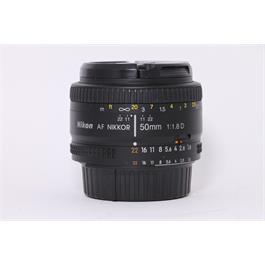 Used Nikon AF 50mm F/1.8 D thumbnail