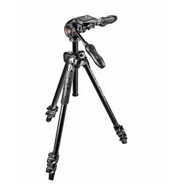 Manfrotto 290 Light Aluminium Tripod and 3-Way Head Kit thumbnail