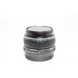 Used Olympus 17mm f/1.8 Lens Black thumbnail