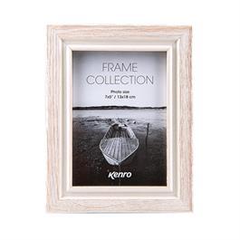 """Kenro Emilia Distressed White Frame 8x12"""" thumbnail"""