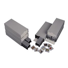 Hama 1086 Stackable Box with Slide Magazines (Pack of 2) thumbnail