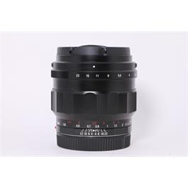Used Voigtlander 50mm F1.2 Nokton E Thumbnail Image 0