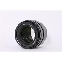 Used Voigtlander 50mm F1.2 Nokton E Thumbnail Image 1