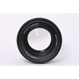 Used Voigtlander 50mm F1.2 Nokton E Thumbnail Image 3
