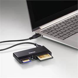 Hama USB 3.0 UHS II Multi-Card Reader
