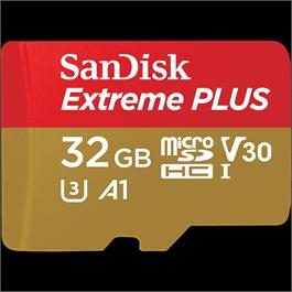 Sandisk 32GB Extreme Plus Micro SD 100MB/s thumbnail