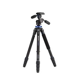 Benro Mach3 Series 2 4-Section Aluminium Tripod with 3-Way Head Kit thumbnail
