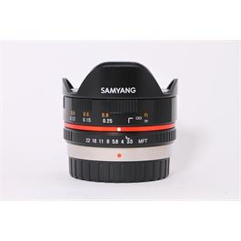 Used Samyang 7.5mm F/3.5 Micro 4/3rds thumbnail