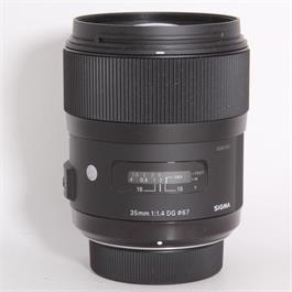 Used Sigma 35mm f/1.4 ART - Nikon Fit thumbnail