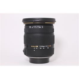 Used Sigma 17-50mm F/2.8 EX DC OS Pentax thumbnail