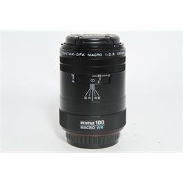 Used Pentax 100mm f2.8 SMC WR Macro Lens thumbnail