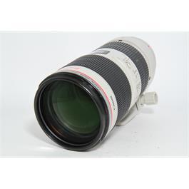 Used Canon 70-200mm f/2.8 Mark II IS USM thumbnail