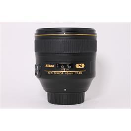 Used Nikon AF-S 85mm F/1.4G thumbnail