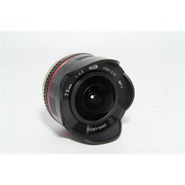 Used Samyang 7.5mm f/3.5 Lens MFT Fit Thumbnail Image 1