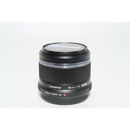 Used Olympus 25mm f/1.8 Lens Black thumbnail