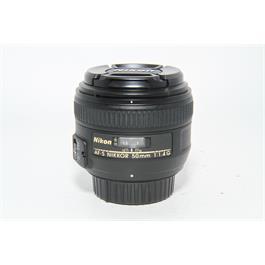 Used Nikon AF-s 50mm f/1.4G Lens thumbnail