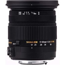 Sigma 17-50mm f/2.8 EX DC OS HSM Lens - Canon fit thumbnail