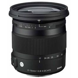 Sigma 17-70mm f/2.8-4 DC OS HSM Macro Lens - Canon Fit thumbnail
