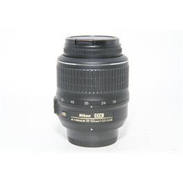 Used Nikon AF-s 18-55mm f3.5-5.6 VR Lens thumbnail