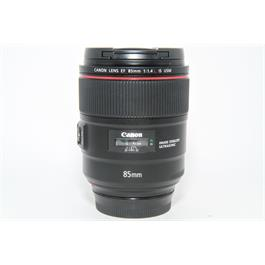 Used Canon EF 85mm f/1.4L IS USM Lens thumbnail