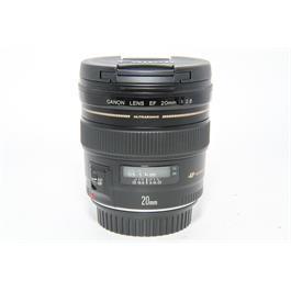 Used Canon EF 20mm f/1.8 USM Lens thumbnail