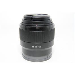 Used Sony FE 50mm f/1.8 Lens thumbnail