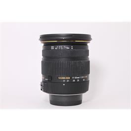 Used Sigma 17-50mm f/2.8 EX DC OS Nikon thumbnail